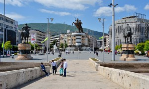 Skopje e l'architettura che divide
