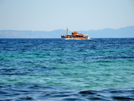 Sithonia e le tonalità di blu della Calcidica