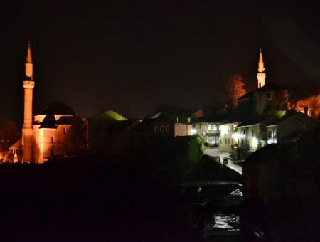 Una notte a Mostar