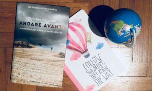 Andare avanti, il libro che racconta il viaggio di Christian Cappello