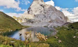 Al confine con l'Austria: come arrivare al lago di Volaia ai piedi del Coglians