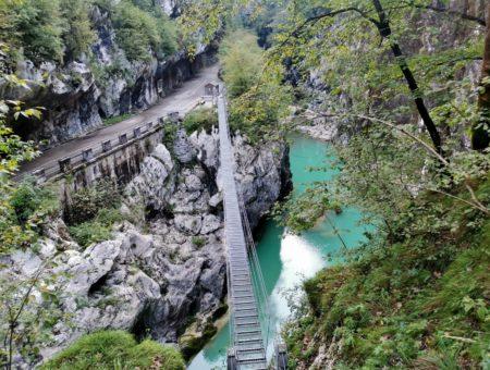 Dolomiti friulane: il Ponte Tibetano sulla Forra sul Cellina